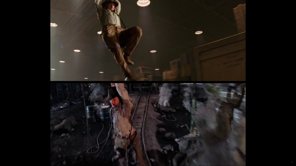 Indiana Jones Visual Comparison Video