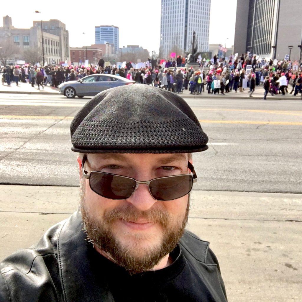 Selfie a Day #21: Women's March in Wichita